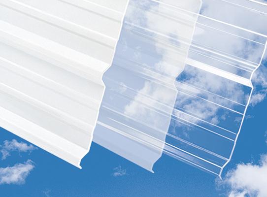 Unitrex® Ultra 9 corrugated polycarbonate panels