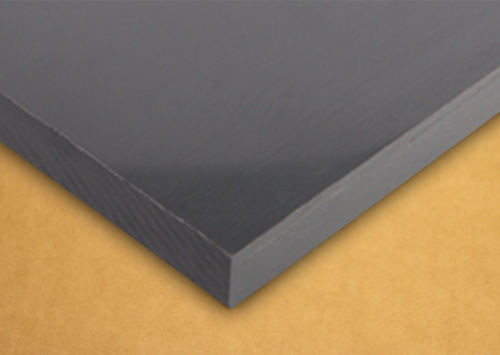 Type 1 Rigid Pvc Flat Panel Dark Grey Vinyl Building