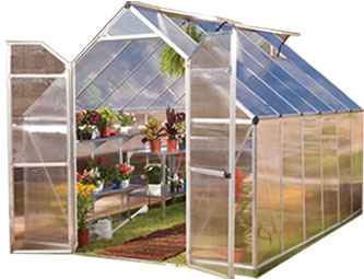 polycarbonate panels greenhouse